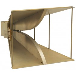 Com-Power AH-220 Double Ridge Horn Antenna 200 MHz to 2 GHz