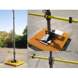 Com-Power EMC Antenna Mast with Motorized Height Adjust