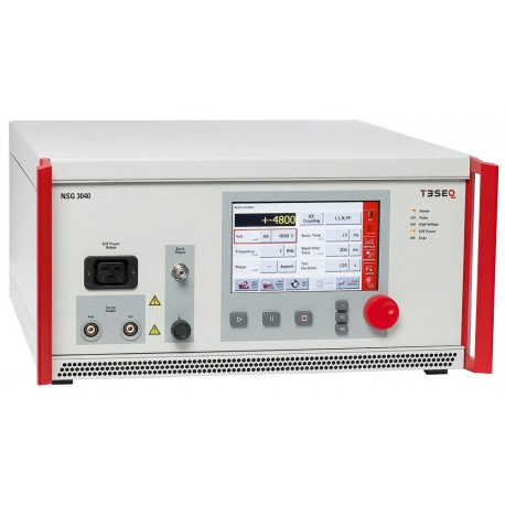 Teseq NSG 3040-IEC Test System for Surge Combination Wave, EFT/Burst, Dips Interrupts & Variations w/ Single Phase 16 A CDN