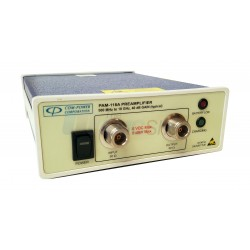 Com-Power PAM-118A High Gain EMC Broadband Preamplifier, 500 MHz - 18 GHz, 40 dB Gain