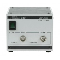 Sonoma 330 Broadband RF Amplifier, 10 kHz to 2.5 GHz, 20 dB Gain
