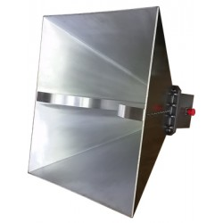 AH Systems SAS-575 Double Ridge Guide Horn Antenna, 1 GHz to 4 GHz, 250 Watts, 200 V/M