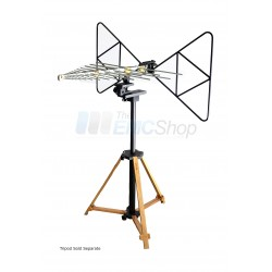 Com-Power AT-220 EMC Antenna Tripod for Horn, Monopole, Loop