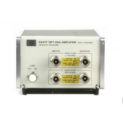 Rent Agilent 8447F-H64 RF Dual Preamplifier & Power Amplifier, 9 kHz to 1.3 GHz