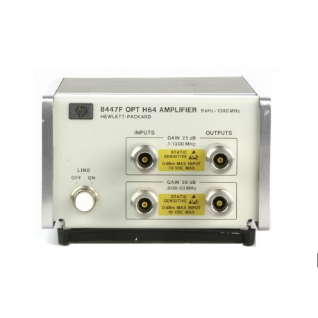 HP 8447F-H64 RF Amplifier 9 KHz to 1300 MHz