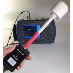 EMC Test Design OFA-G Omnifield Antenna with PU-5G Power Unit,  30 MHz - 6 GHz, 1 mV/m - 60 V/m