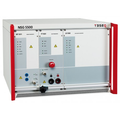 Teseq NSG 5500-1 Automotive Transient Immunity Tests ISO 7637 Pulses 1, 2a, 3a, 3b up to Three Transient Modules