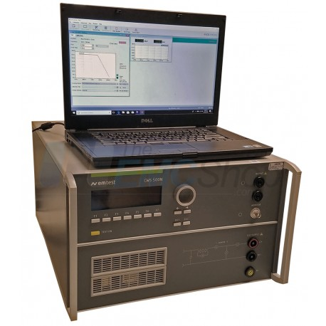 Em Test CWS 500N3 Test Generator for Mil-STD-461, ISO 11452 and More