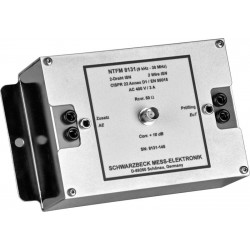 Schwarzbeck NTFM 8131 2-Wire Impedance Stabilisation Network, 9 kHz - 30 MHz