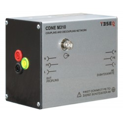 Teseq CDNE M310 Coupling/Decoupling Network for Emission Measurement, 10 A, 30 to 300 MHz