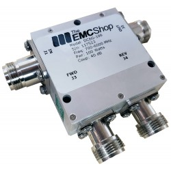 DC6G-100 700 MHz - 6 GHz, 100 Watt Dual Directional Coupler