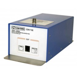Com-Power CDN-T2E 124 Volt, 2 Amp CDN with RJ 11 Connections - EMC Test Equipment