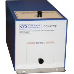 Com-Power CDN-C75E CDN for 75 Ohm Coaxial Cables for Data Communication - EMC Test Equipment