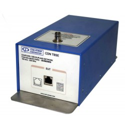 Com-Power CDN-T8SE Coupling Network for RJ45 Ethernet Cable Screened Lines - EMC Test Equipment