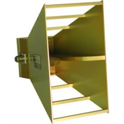 AH Systems SAS-571 Broadband Double Ridge Horn Antenna, 700 MHz - 18 GHz