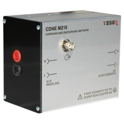 Teseq CDN M210B Coupling Network with CEE 7/17 EUT Port & IEC 60320 C14 AE Port- EMC Test Equipment