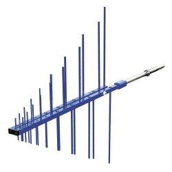 Teseq UPA 6109 Log Periodic Antenna, 200 MHz to 1 GHz - The EMC Shop