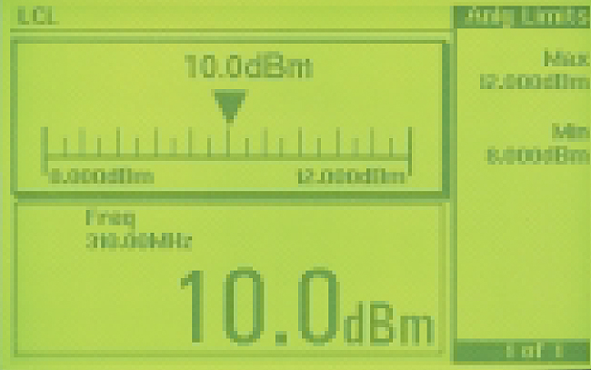 Keysight EPM Series  The Top Half of the Split Display