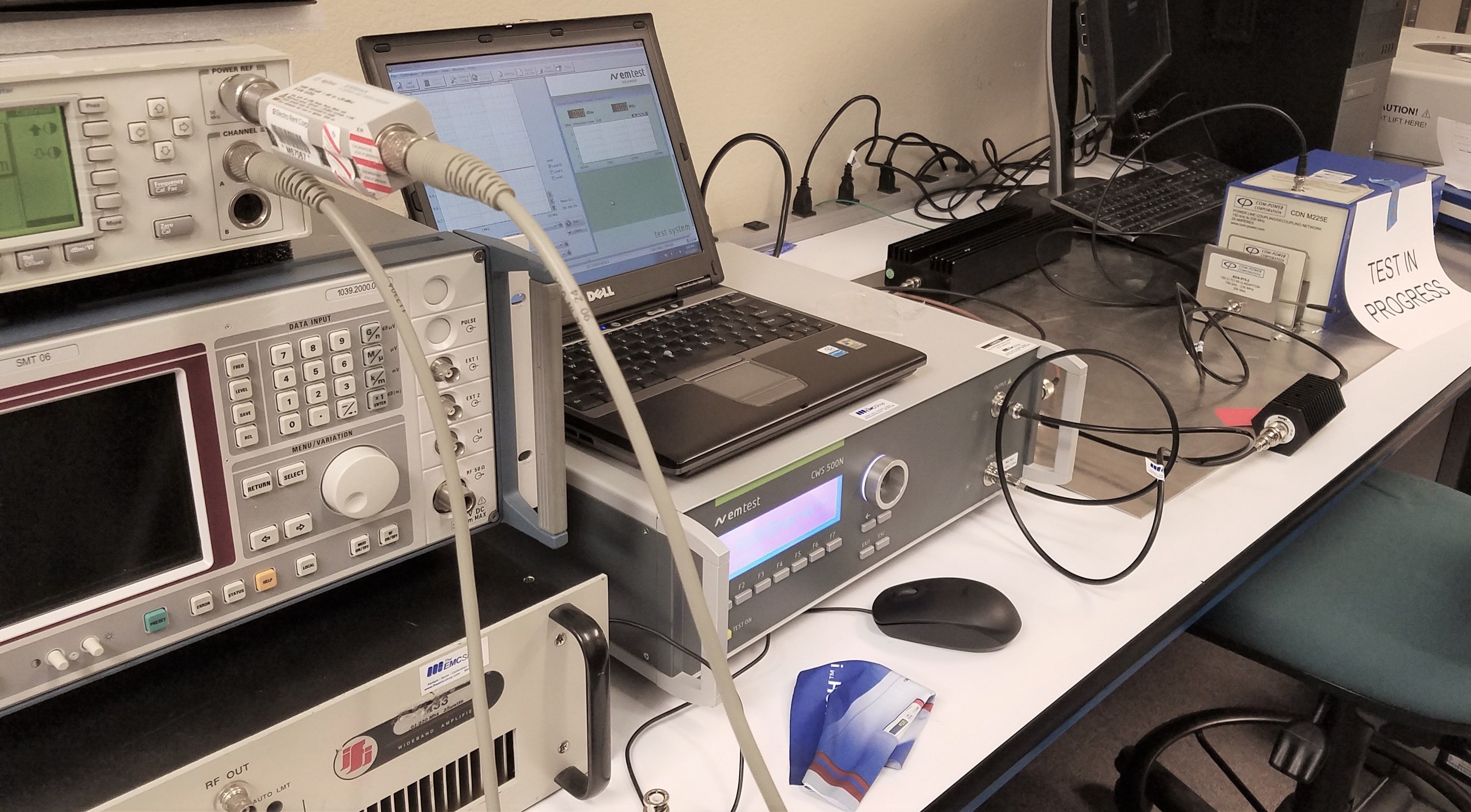 Calibration Laboratory Capable of Specific Compliant Test Standards